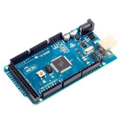Arduino MEGA2560 R3 Versión sin Logo Incluye Cable USB 10 LEDs 10 Resistencias