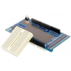 Proto Shield Arduino MEGA Versión 3 Incluye Mini Protoboard
