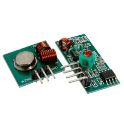 Par Módulo Transmisor Receptor Radiofrecuencia 315MHz