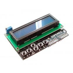 Arduino KeyPad Shield LCD 2x16 con 5 Pulsadores