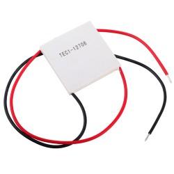 Celda Termoeléctrica Peltier Cerámica Modelo TEC1-12706 12V 60W
