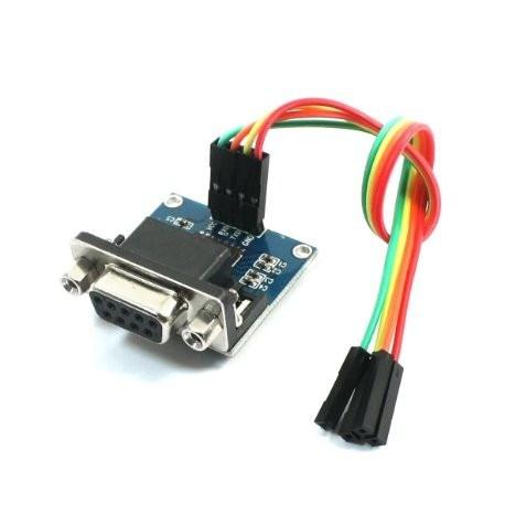 Conversor Serial TTL a RS232 Basado en el Circuito Integrado MAX3232