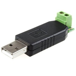 Conversor USB Serial RS485 Basado en los Circuitos MAX485 y CH340