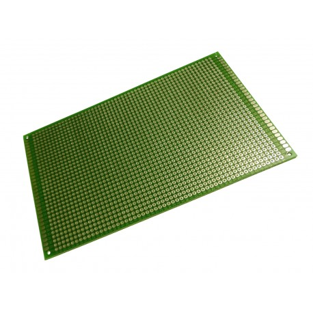 Placa PCB Perforada Doble Faz 9x15cm