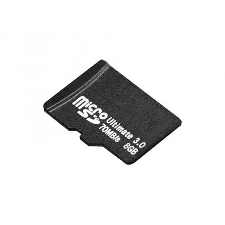 Memoria Micro SD Ultimate 3.0 8GB 70MB/s Precargada con NOOBS