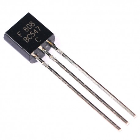 Transistor Multipropósito NPN BJT BC547 TO-92