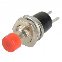 Pulsador de Chasis 7mm Modelo PBS-110 2P Micro Switch