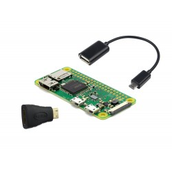 Pack Básico Raspberry Pi Modelo Zero W Incluye Wifi y Bluetooth Integrado