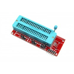 Adaptador Zócalo ZIF 40P para Programador PIC ICSP
