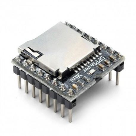 Módulo Reproductor Audio Digital MP3 Serial con Slot Micro SD