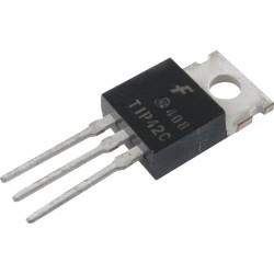 Transistor de Media Potencia PNP TIP42C TO-220