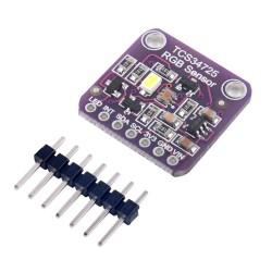 Sensor de Color Digital con Filtro Infrarrojo IR I2C RGB TCS34725