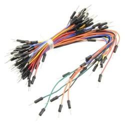 Pack de 65 Cables Diferentes Medidas Tipo Macho-Macho