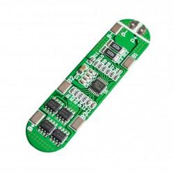Módulo Cargador Protector BMS 4S Modelo HX-4S-A01 para 4 Baterías de Litio 18650
