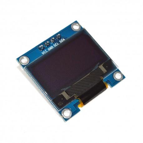 Pantalla Monocromática 0.96' LCD OLED Gráfico I2C 128x64