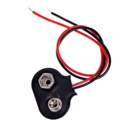 Conector de Batería 9V con Cable de 15cm