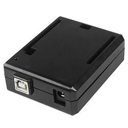 Caja Case Carcasa ABS Negro Arduino UNO