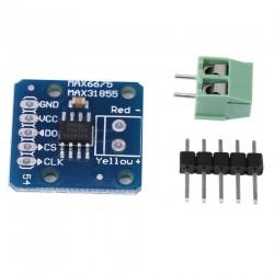 Módulo MAX31855 Sensor Temperatura para Termocuplas K, J, N, S, T, E, R