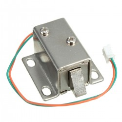 Mini Cerradura Eléctrica Solenoine Magnética 12VDC