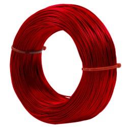 Rollo Cable AWG24 10 Metros 300V Colores Rojo Amarillo Azul