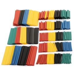 Pack 328pcs Tubos Termocontraible 5 Colores Diferentes Diámetros