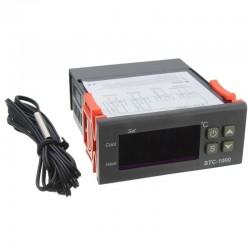 Controlador de Temperatura Modelo STC-1000 con Sensor NTC