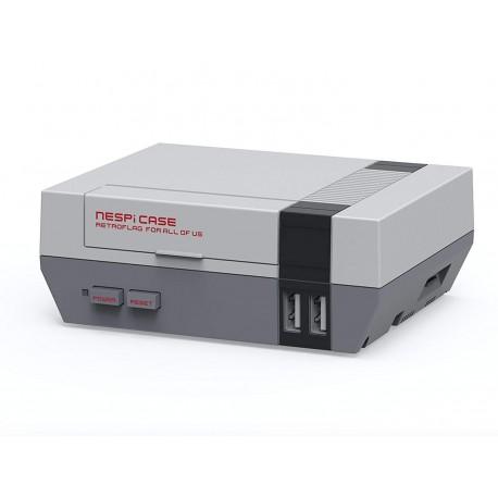 Pack NesPi Case Raspberry Caja Tipo Nintendo Entertaiment System NES