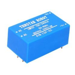 Mini Conversor AC-DC Fuente de Poder Salida 5VDC 3W Modelo TSP-05