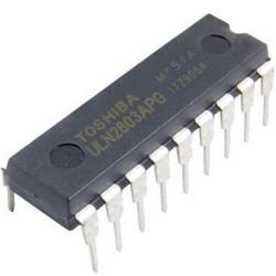 Circuito Integrado DIP18 ULN2803APG 8CH Transistor Darlington