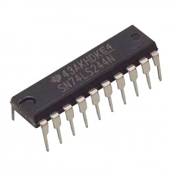 Circuito Integrado SN74LS244N Controlador de Linea Buffer DIP20