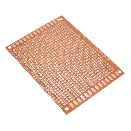 Placa PCB Baquelita Perforada 1 Faz Tamaño 7x9cm para Prototipo