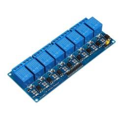 Módulo 8 Relés Optoacoplados Optoaislados TTL 12V 8CH