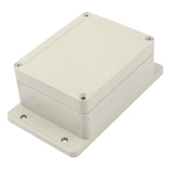 Caja Gabinete de Proyectos Electrónicos Impermeable 115x90x55mm