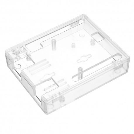 Caja Case Carcasa ABS Transparente Negro Arduino UNO