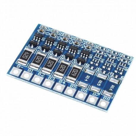 Módulo Cargador Protector BMS 5S 10A para 5 Baterías de Litio 18650