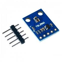 Sensor de Luminosidad Infrarroja y de Ambiente I2C Modelo TSL2561