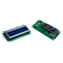 Display Alfanumérico LCD 2x16 incluye Interfaz de Comunicación I2C