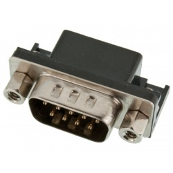 Conector DB9 Macho Serial RS-232 para PCB