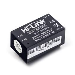 Mini Conversor AC-DC Fuente de Poder Salida 5VDC 3W Modelo HLK-PM01