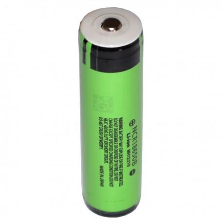 Batería Litio 18650 3.7V 2000mAh Reales Modelo NCR18650B con PCM Protección