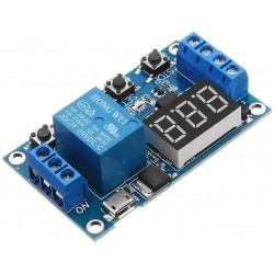 Módulo Relé con Retardo Programable y Entrada de Activación Modelo HW-0521
