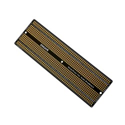 Placa Prototipo PCB Doble Faz Tipo Protoboard 840 Puntos Tamaño 157 x 51mm