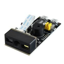 Módulo Scaner V3.0 Lector de Código de Barra QR 1D 2D Serial TTL Micro USB y HID