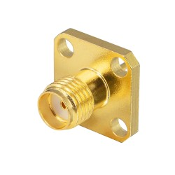 Conector para Panel o Chasis SMA Hembra RF 13x13mm