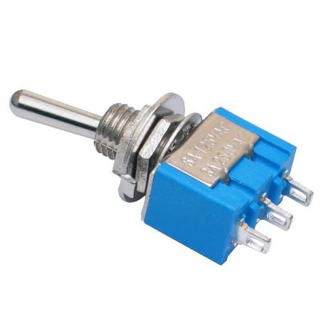 Mini Interruptor de Palanca 2 Posiciones ON OFF ON Modelo MTS-102