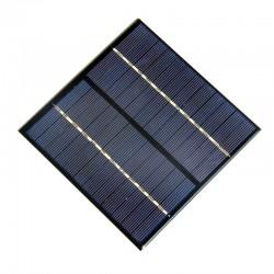 Mini Panel Solar Fotovoltaico Policristalino 12V 2W 135 x 135 x 3mm