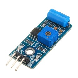 Sensor de Vibración Mecánica Módulo SW-420 Salida TTL