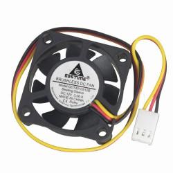 Ventilador 12VDC 40x40x10mm 3 Pines con Señal de Velocidad Tacómetro