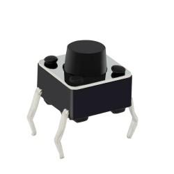 Pulsador Mini para PCB de 4 Pines Tamaño 6x6mm