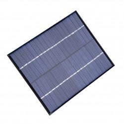 Mini Panel Solar Fotovoltaico Policristalino 6V 2W 136 x 110 x 3mm